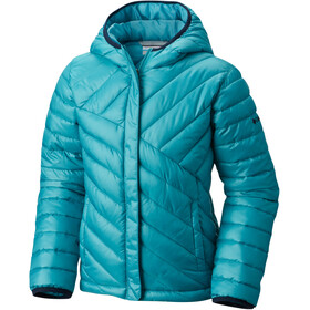 Columbia Powder Lite Puffer Girls Pacific Rim/Collegiate Navy